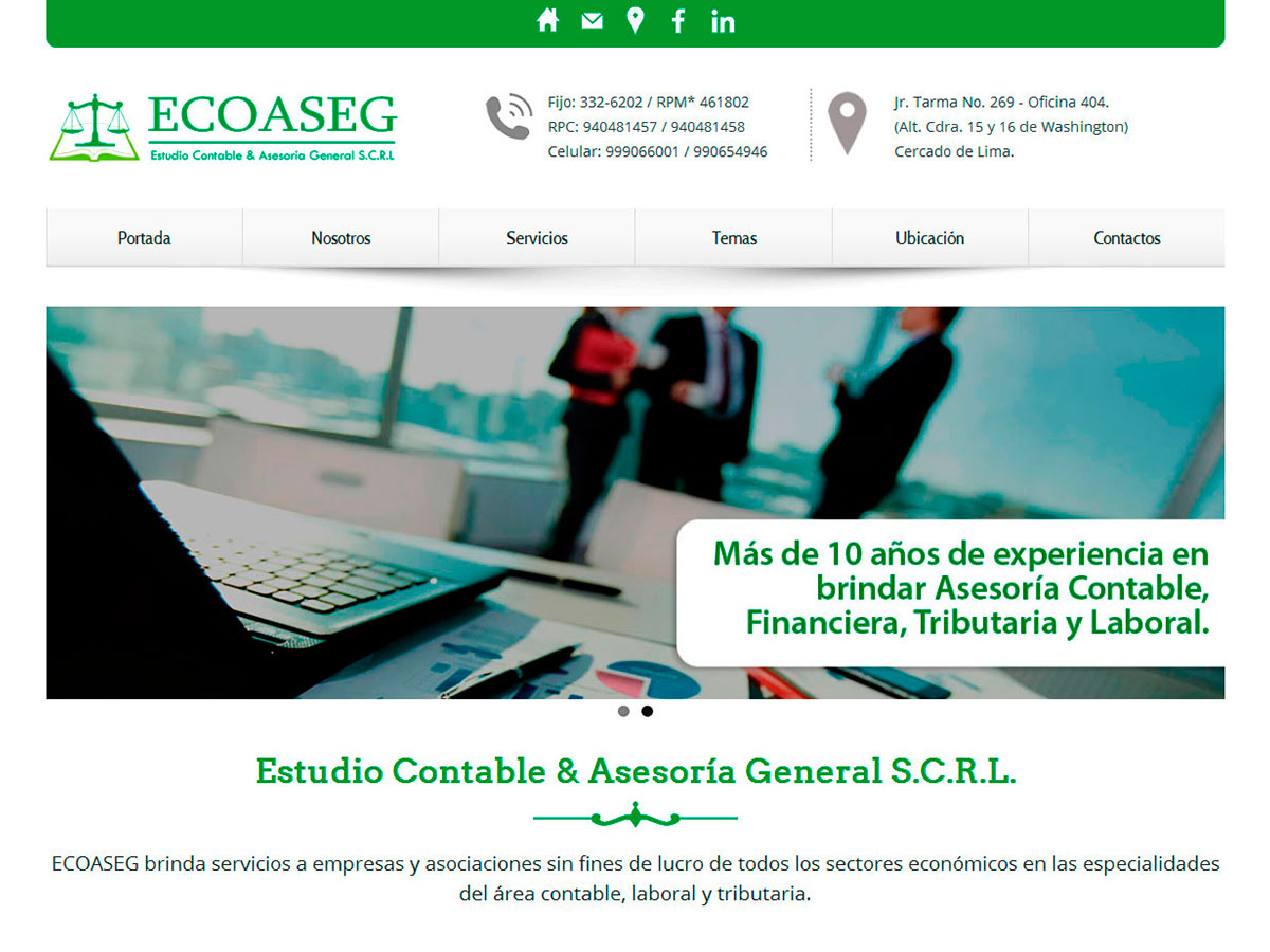 Estudio Contable & Asesoría General S.C.R.L.